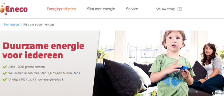 Eneco energie - manager online